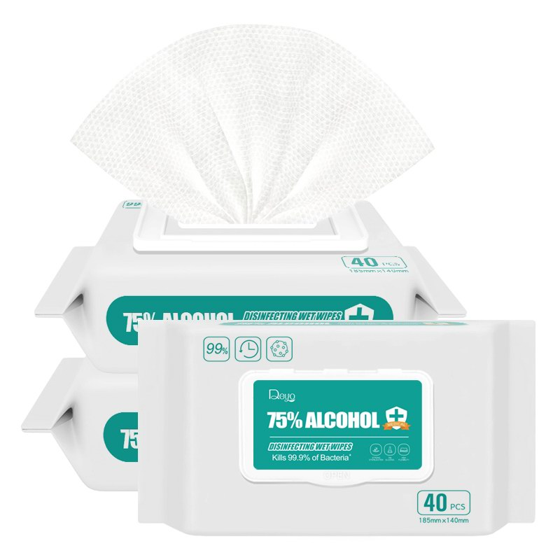 75% Alcohol wipes 40P-1