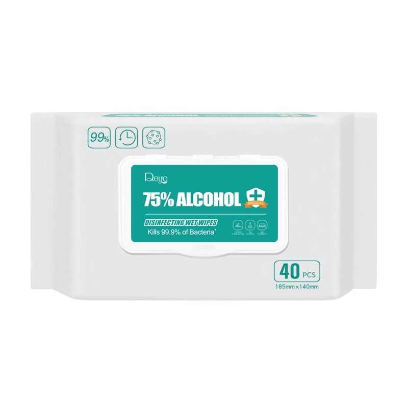 75% Alcohol wipes 40P-3