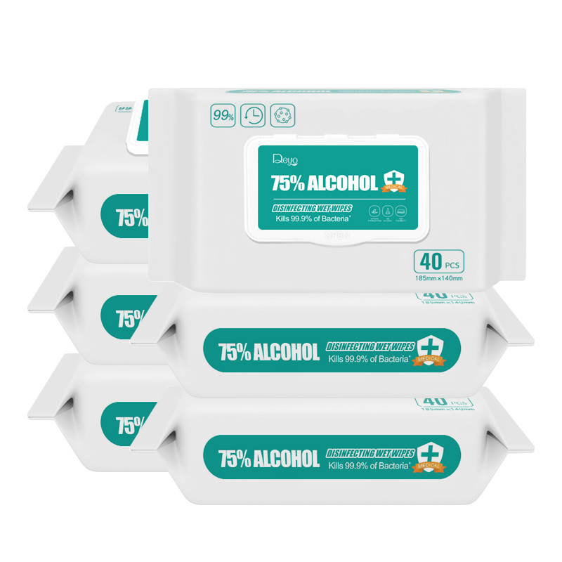75% Alcohol wipes 40P-5