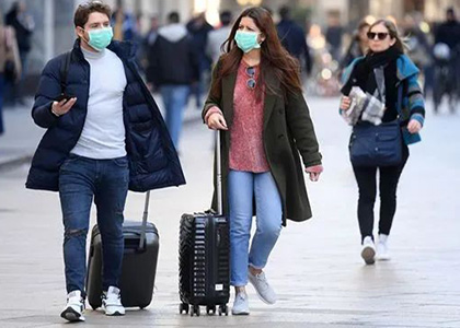 People are wearing mask