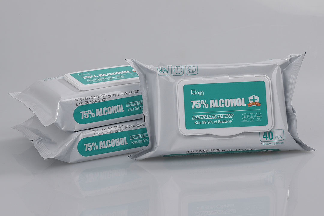 Antibacterial cleaning wipes for sale