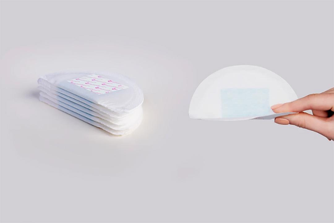 Absorbent disposable nursing pads