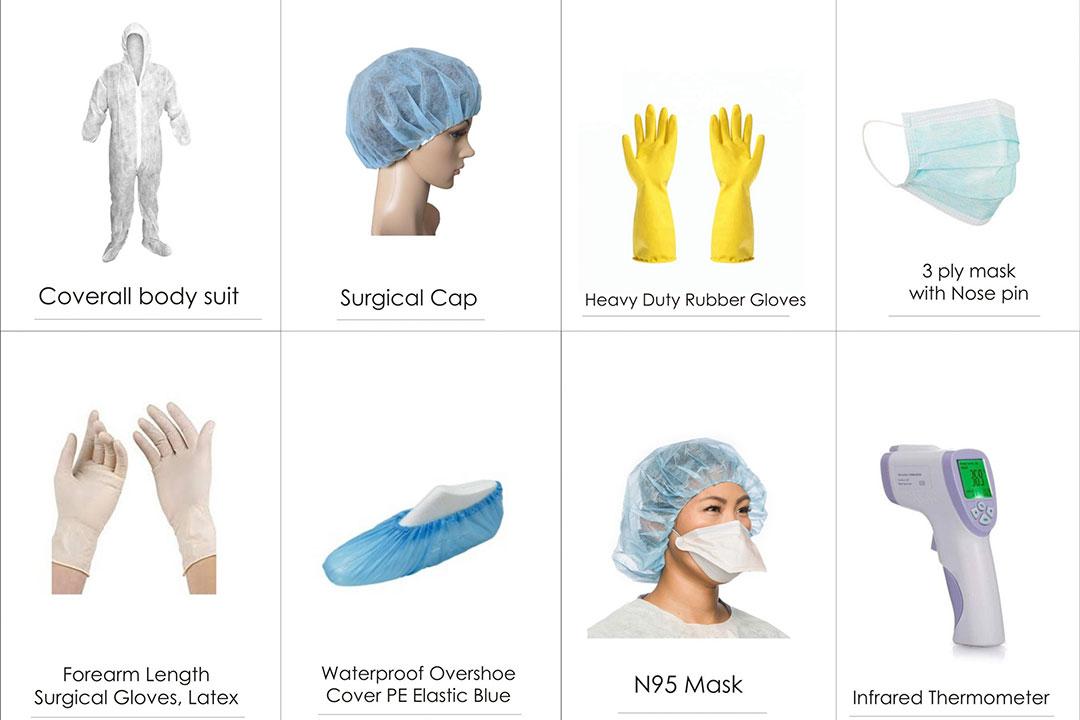 Epidemic prevention materials