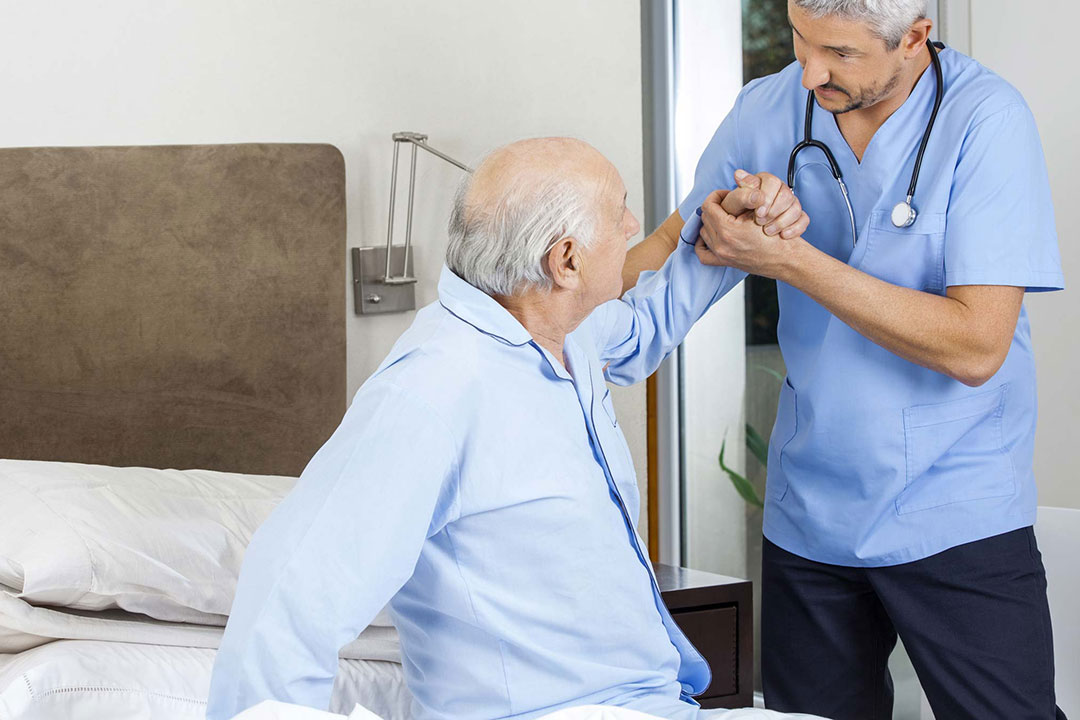 The elderly with incontinence