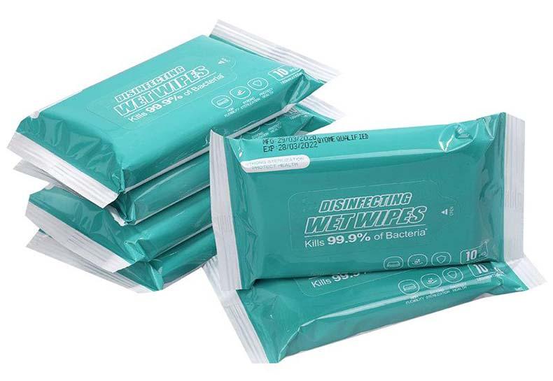 Yeesain 10pcs disinfecting wipes
