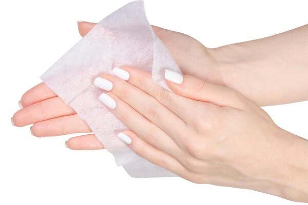 handy hand wipes