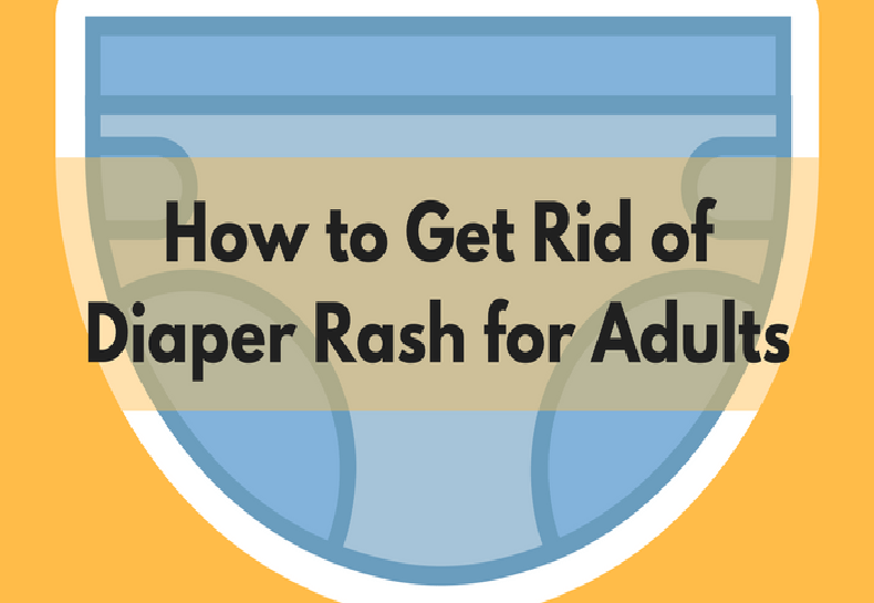 how to get rid of adult diaper rash
