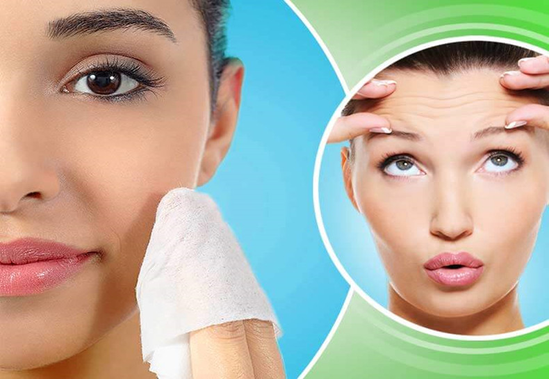safe and healthy facial cleaning wipes